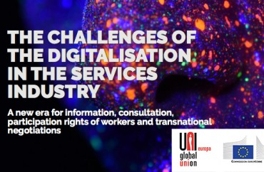 THE CHALLENGES OF THE DIGITALISATION IN THE SERVICES INDUSTRY